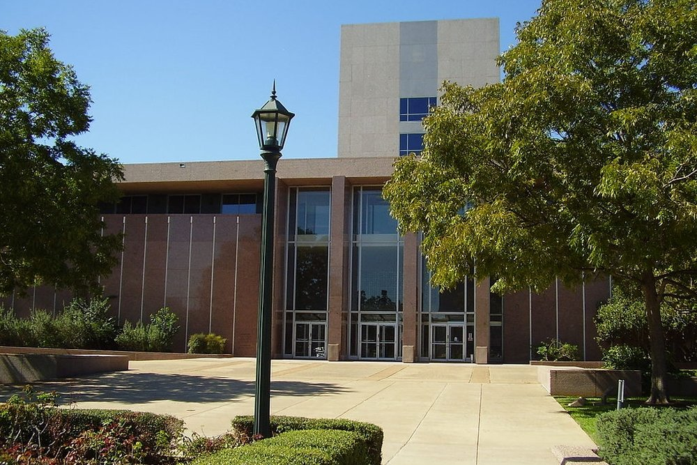 Texas Supreme Court building. Photo credit:WhisperToMe [public domain],  via Wikimedia Commons