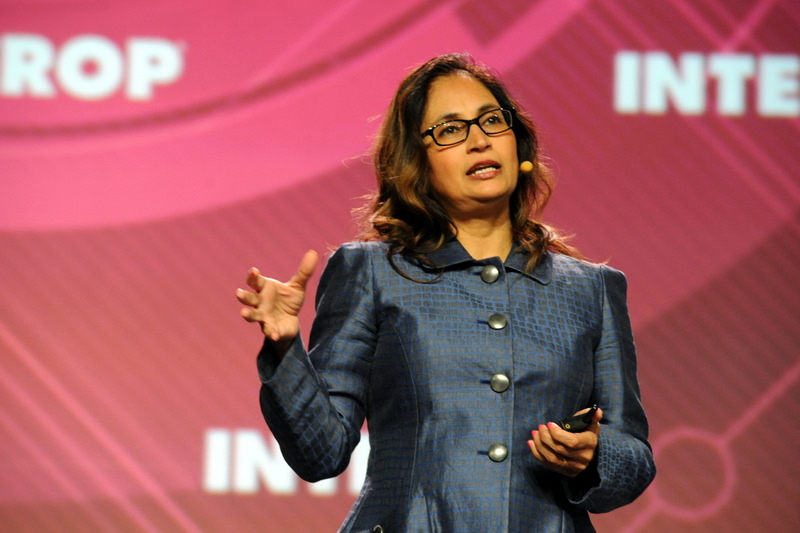 Padmasree Warrior. Photo credit: Interop Events [ CC BY-NC-ND 2.0 ],  via Flickr