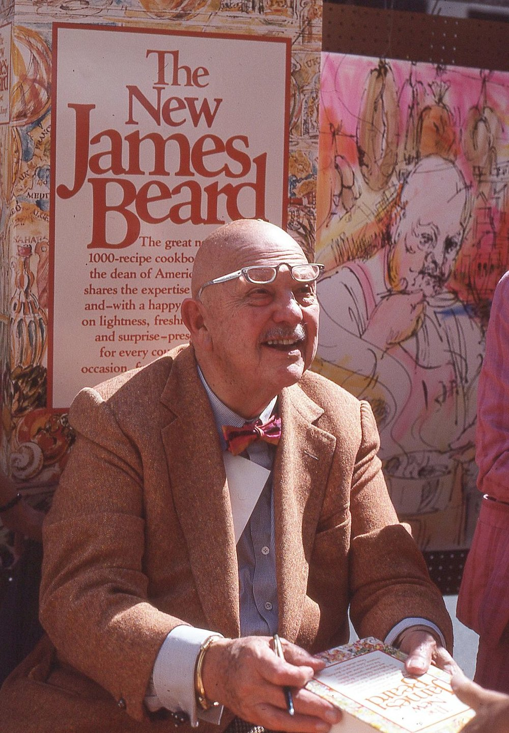 James Beard. Photo credit: Bill Golladay [ CC BY-SA 4.0 ],  via Wikimedia Commons