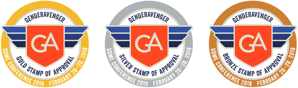 stamp of approval genderavenger