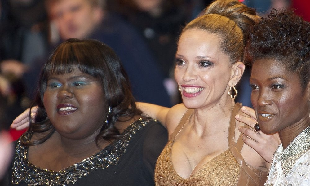 Gabourey Sidibe, Victoria Mahoney, and Yolonda Ross. Photo credit: Siebbi (cropped) [ CC BY 3.0 ],  via Wikimedia Commons