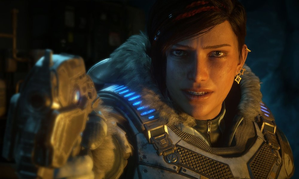 Kait Diaz, the protagonist of Gears 5