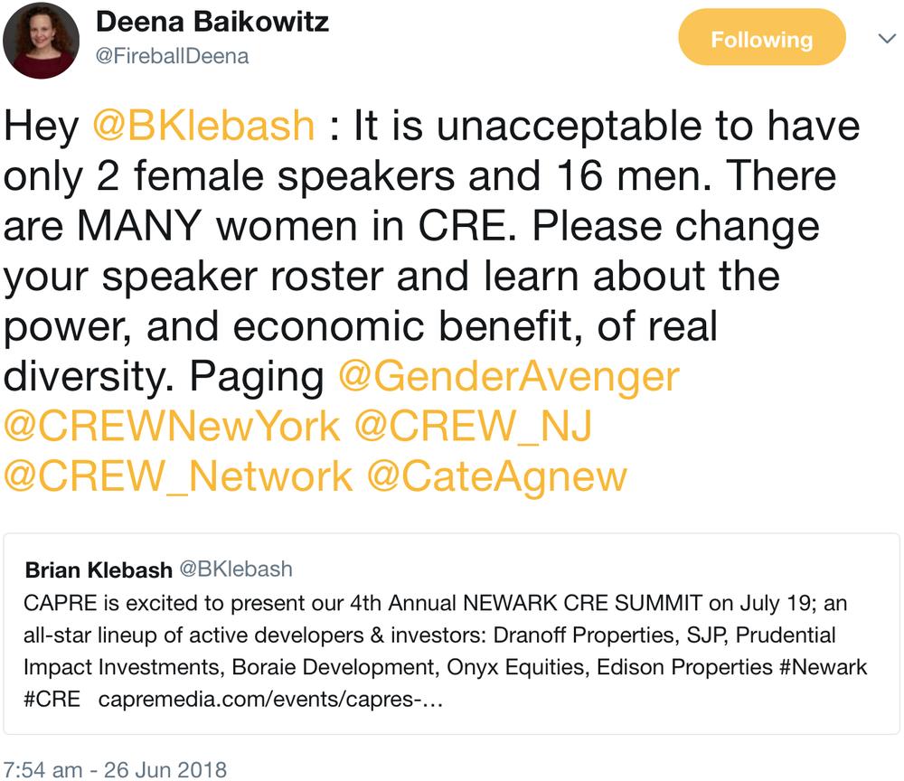 GenderAvenger Deena Baikowitz