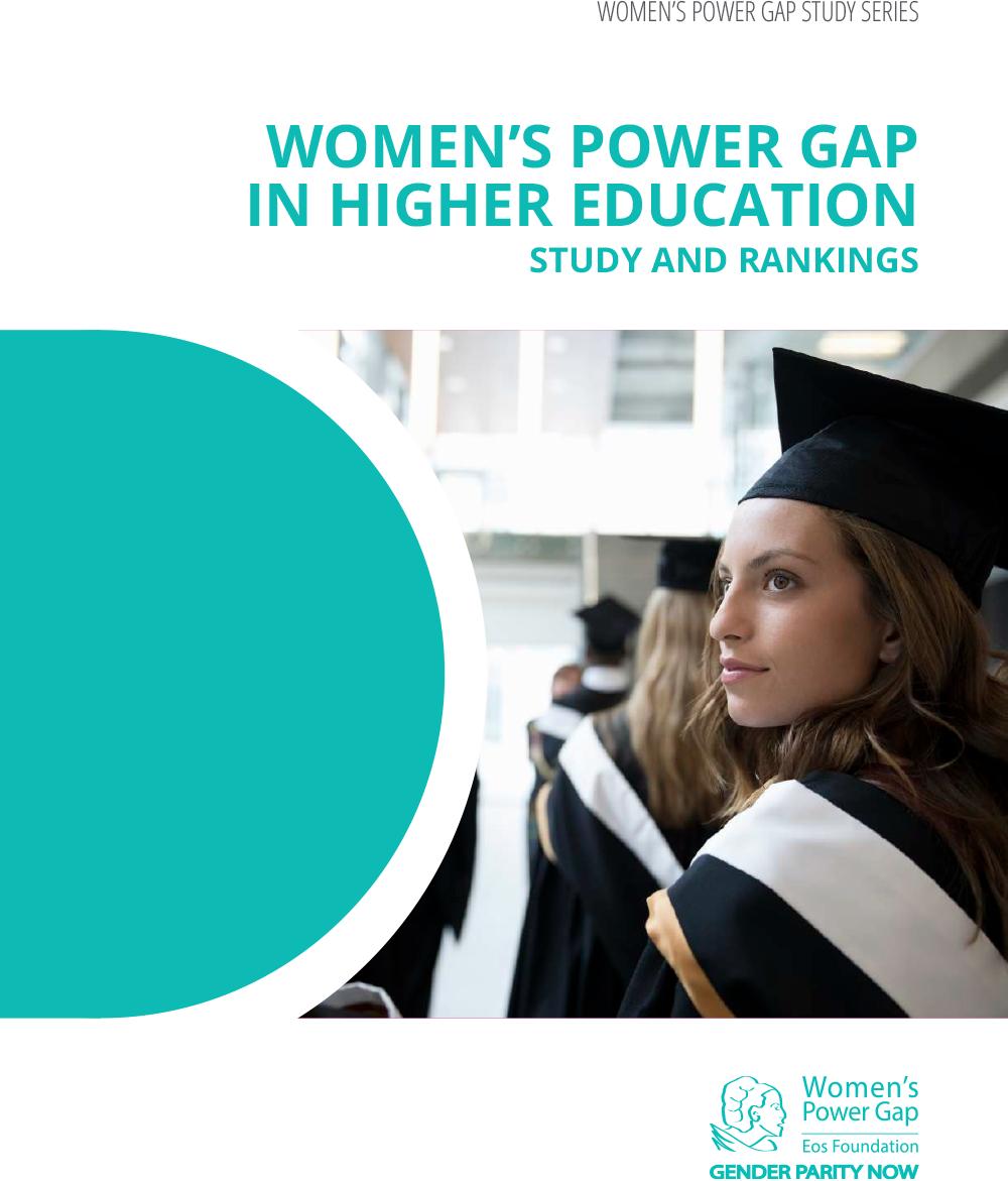 Women's Power Gap in Higher Education report