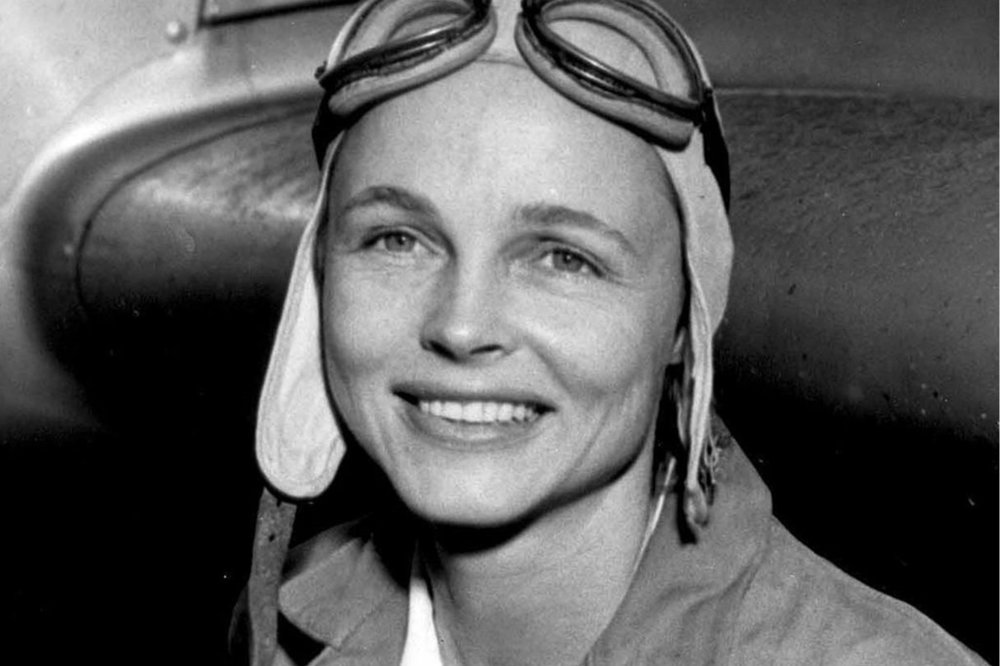 """Mrs. Betty H. Gillies was the first woman pilot to be """"flight checked"""" and accepted by the Women's Auxiliary Ferrying Squadron. ( via Wikimedia Commons )"""