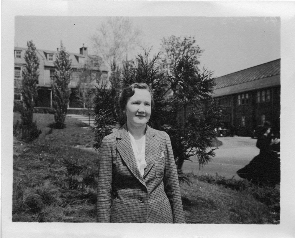 Regina Flannery Herzfeld (1904-2004), one of the first women anthropologists in the United States. Photo credit: Smithsonian Institution from United States [ no restrictions ],  via Wikimedia Commons