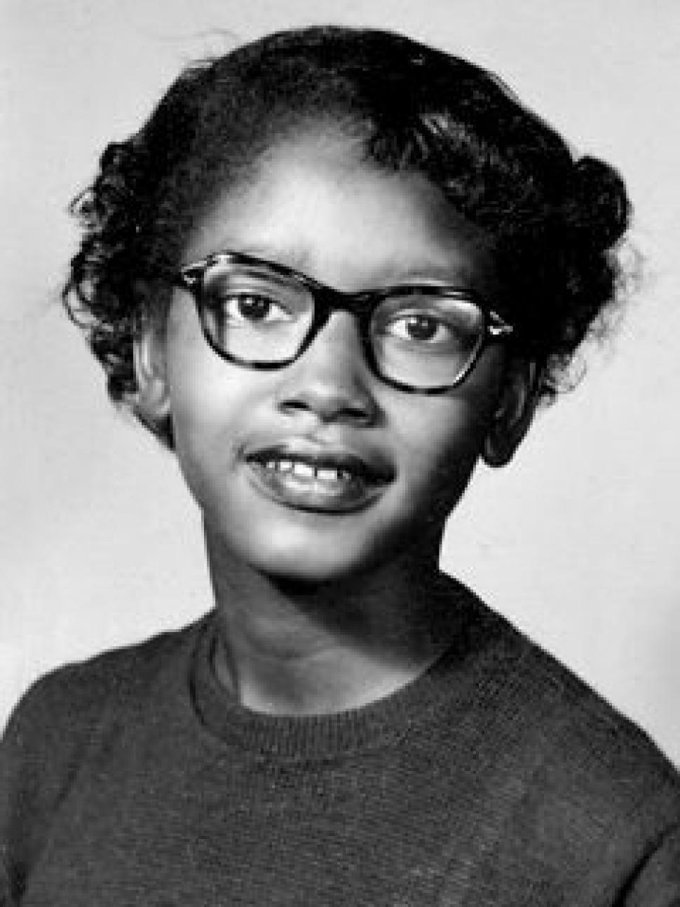 The Visibility Project, Claudette Colvin [public domain],  via Wikimedia Commons