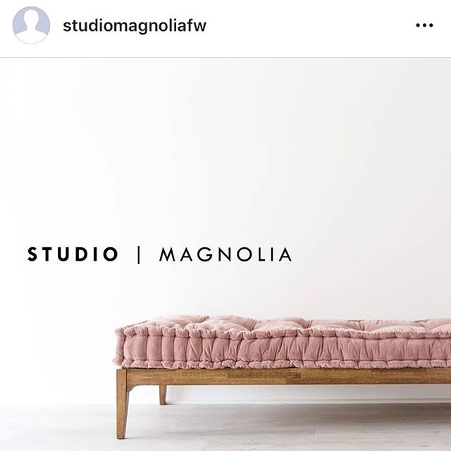 Repost from @studiomagnoliafw // Do yourself a favor and follow my sweet friend's new venture -Studio Magnolia. The journey to get to this point has been long and tough, but her heart for this studio and the hope on the horizon is bright! Proud of you, @breelinne!