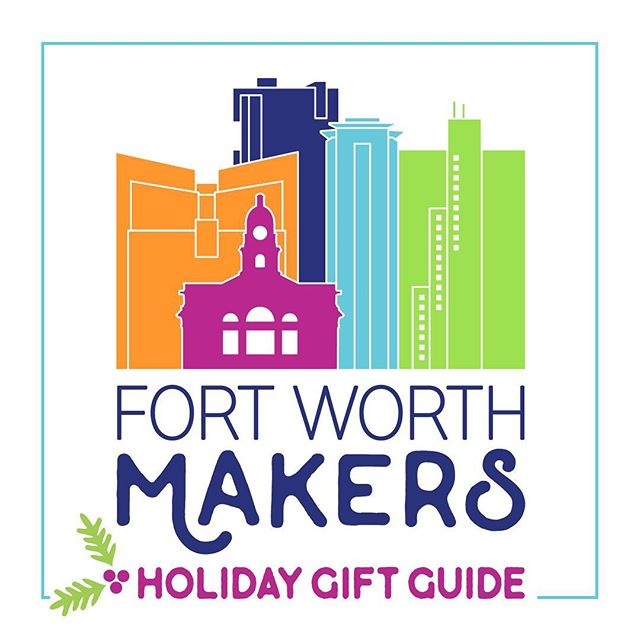 Eeep! It's an honor to be listed among these incredibly talented Makers in our city. The holiday gift guide is categorized so you can quickly search by your gift recipient. Lots of love and talent in this little guide- check it out here! fortworthmakers.org/giftguide