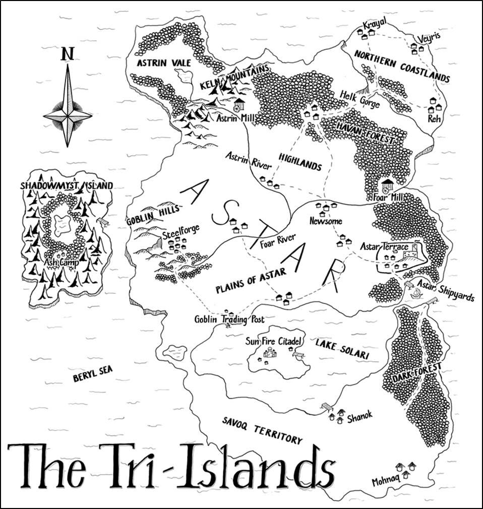 Final Series Map
