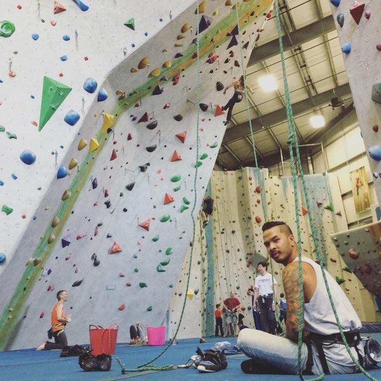 Rock Climbing days