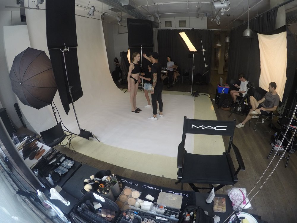 Lookbook Shoot, Mac Pro, NYC