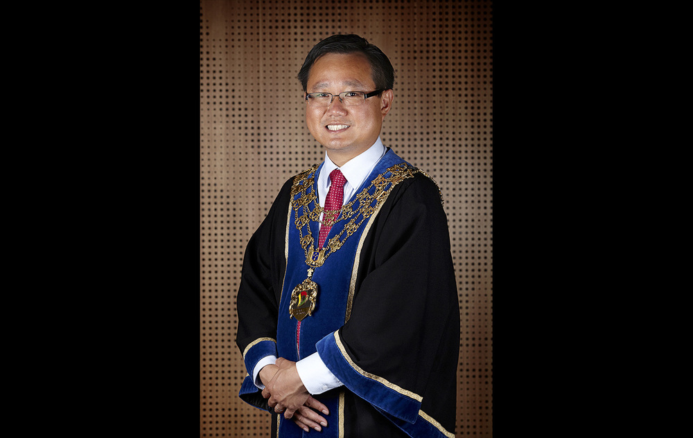 Mayor Cr Heang Tak