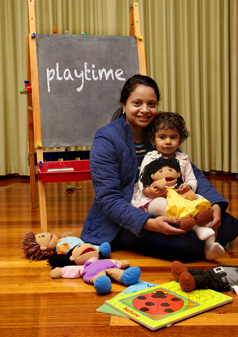 In Home Family Daycare - highlighting some of the activities that children do during their daytime care