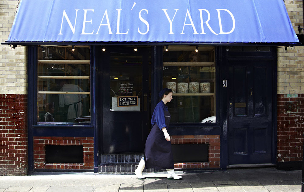 Neil's Yard - right near Borough Market, the best food Market in London