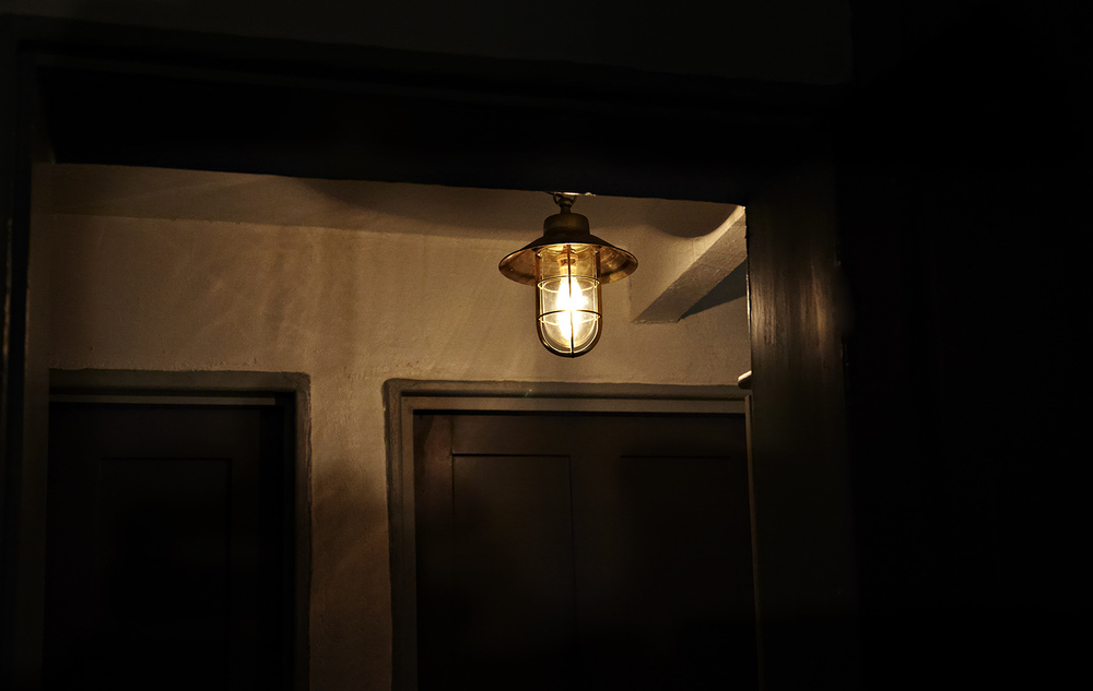John Keats House, the basement light