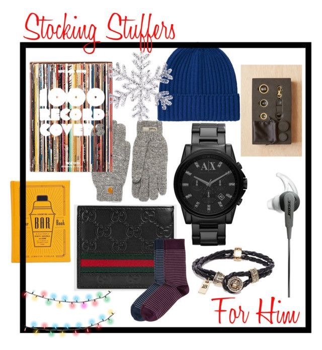 1000 Record Covers  |  Heat Tech Knitted Hat  |  Mobile Lens Kit  |  Gloves  |  Armani Exchange Watch  |  The Bar Book  |  Gucci Wallet  |  Socks  |  Leather Bracelet  |  Bose Earphones