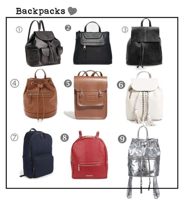1. Black Embossed Backpack | 2. Fiorelli Candy Square Backpack | 3. Lapel Suede Backpack | 4. Faux Leather Backpack |5. Portrait Backpack |6. Moto Backpack | 7. The Modern Zip Backpack | 8. Faux Leather Convertible Backpack| 9.| Mara Backpack