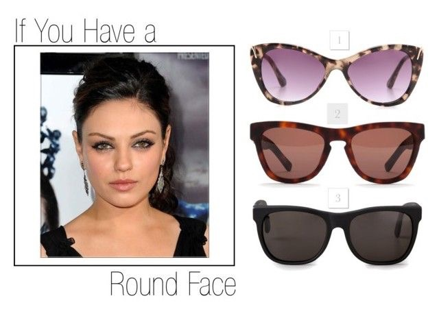 1. Elizabeth and James Fillmore Cat Eye Sunglasses 2. Westward Leaning Tortoise Matte Sunglasses 3. Super Sunglasses