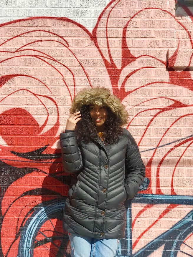 ABERCROMBIE & FITCH DOWN-FILLED PARKA  | ZARA JEANS | SOLE SOCIETY BOOTIES | SUNGLASSES VIA TJMAXX
