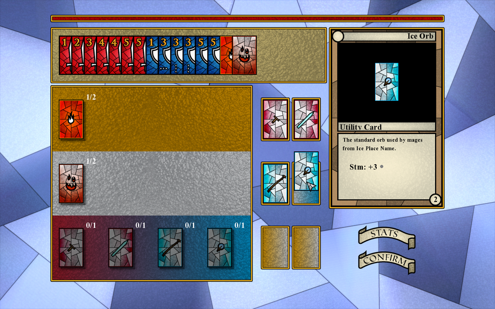 Please note that this inventory screen is a work in progress. When it is finished, we will do a separate post on it.