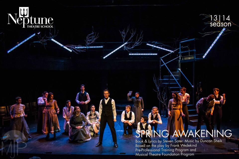 Neptune Theatre Spring Awakening 2014