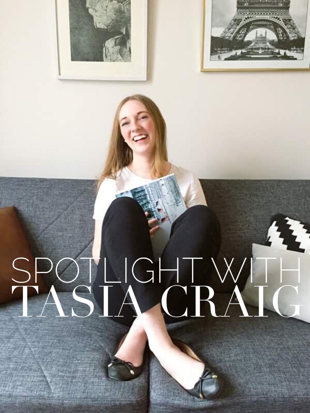 Tasia Craig 2016.