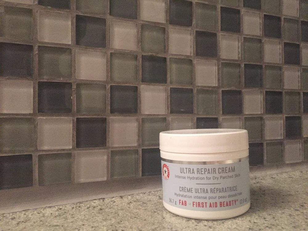 Ultra Repair Cream recommendation from  Beth Enman at Living While.   A true life savour during the harsh winds off the water during my winter walks.