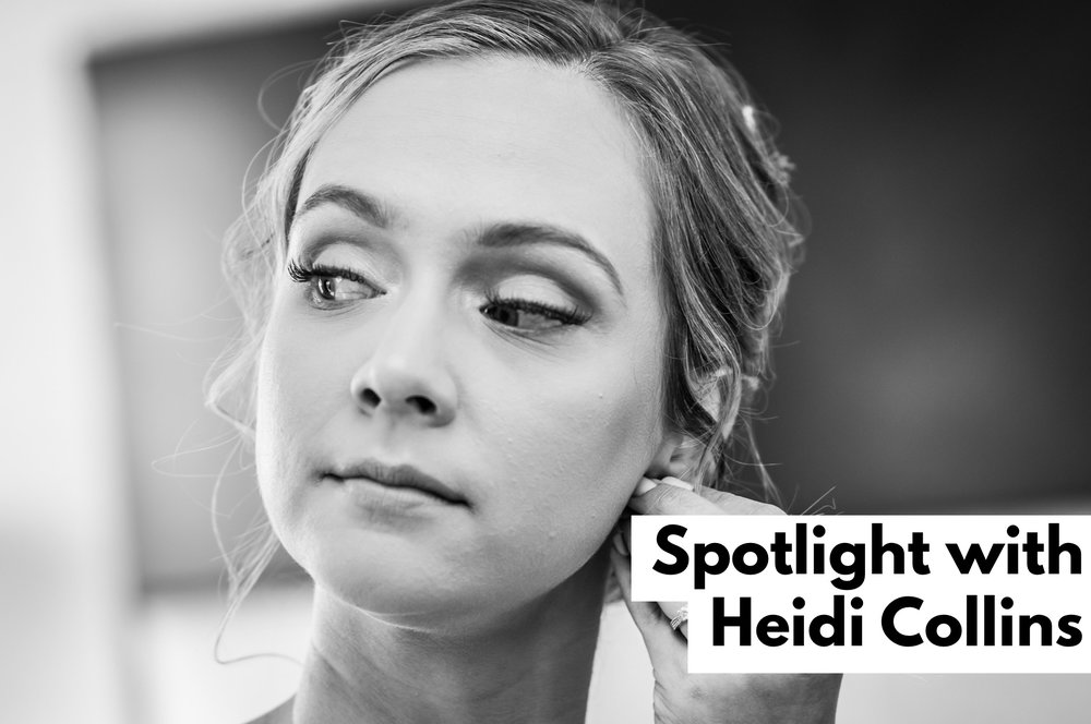 Heidi and I met over eleven years ago when I started dating her cousin. I was always aware that Heidi had an ability to allow her interests and creativity space in her life. She was consistently pursuing the various facets of creativity and I have been moved by her excellence in those areas. Heidi never does something without precision and elegance.  Here are her striking words in this months Spotlight Interview: