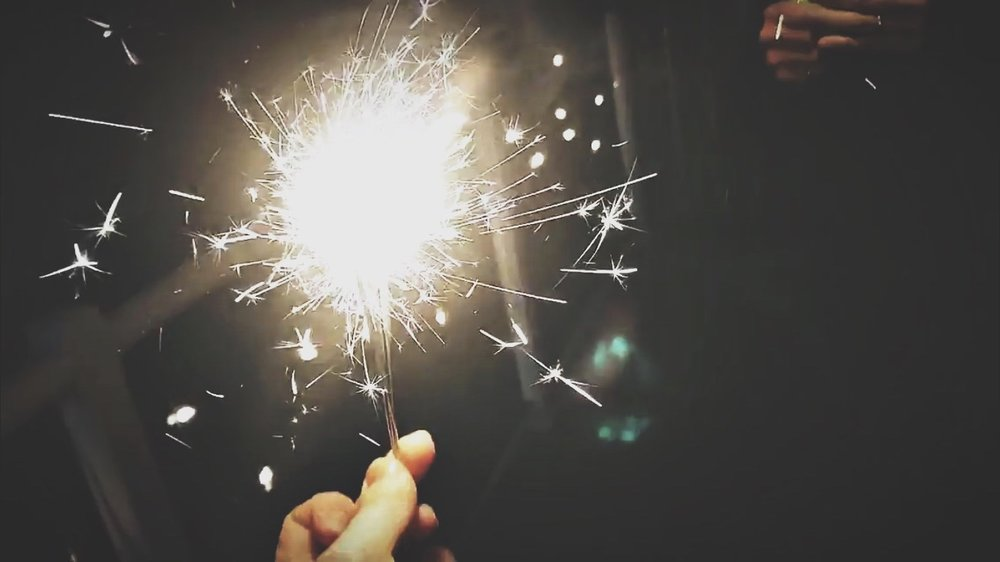 New Years Eve Sparklers | 2019