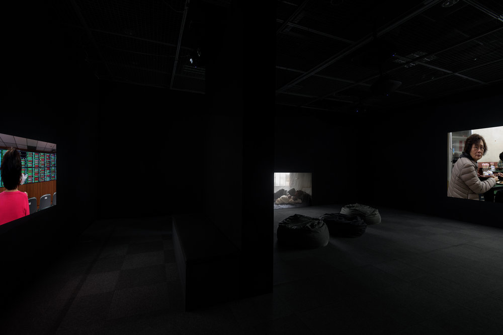 <時時>裝置現場  <Hour Hour> Video Installation.