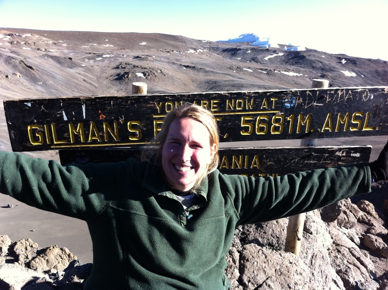 Me on Mount Kilimanjaro for the third time, raising money for Global Alliance for Africa's AIDS orphans programs.