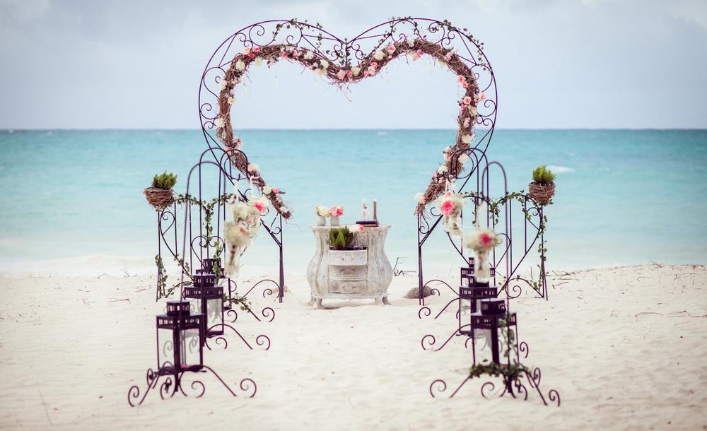Vintage Beach Wedding In Punta Cana Weddings In Dr