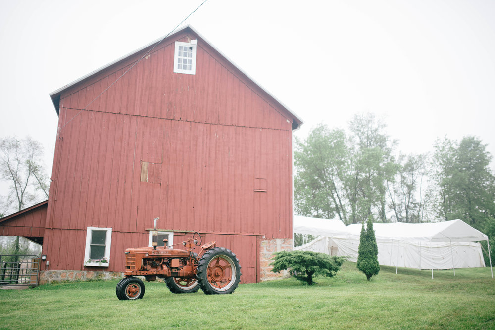 My Aunt and Uncle's gorgeous barn where all the festivities took place!