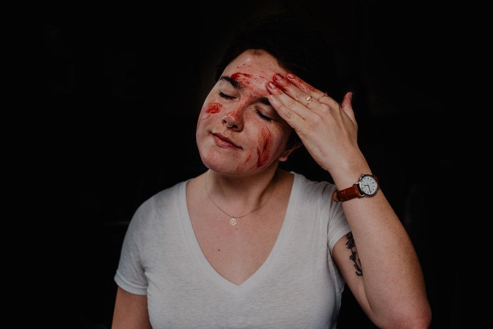 bleed -