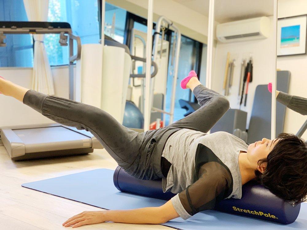 股関節の柔軟性維持  骨盤底筋トレーニング