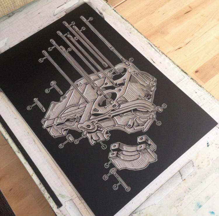 Katy Clark Motorgrrl Artshow Artist Moto Motorcycle Art 1.jpg