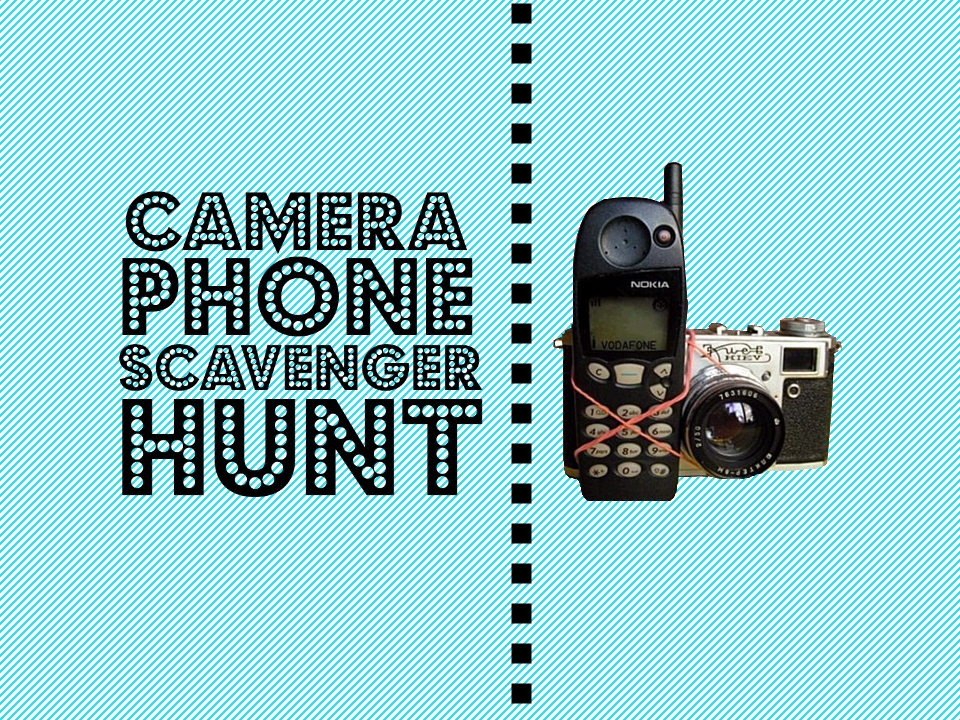 GroupGames-Camera Phone Scavenger Hunt