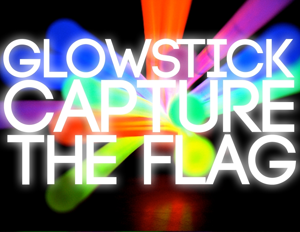 Groupgames glow stick capture the flag for Capture the flag