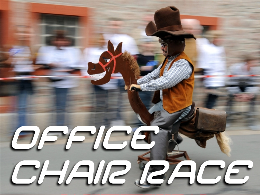 Groupgames Office Chair Race