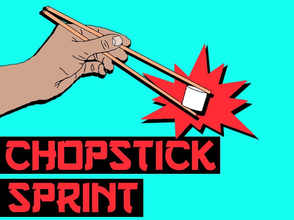 Groupgames Chopstick Sprint