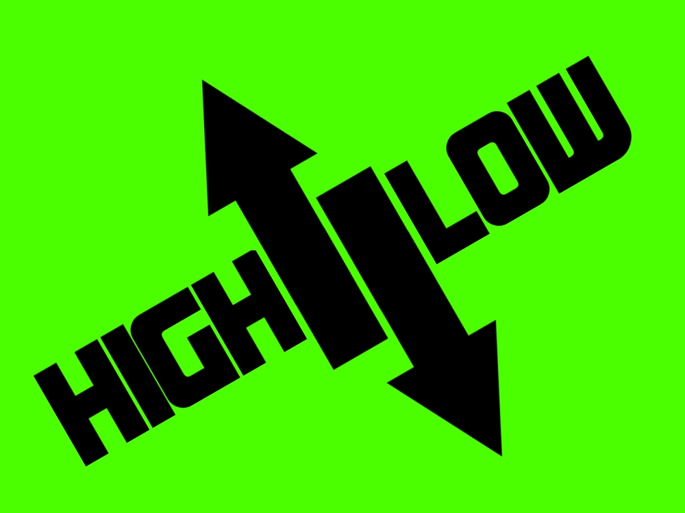 High And Low Game