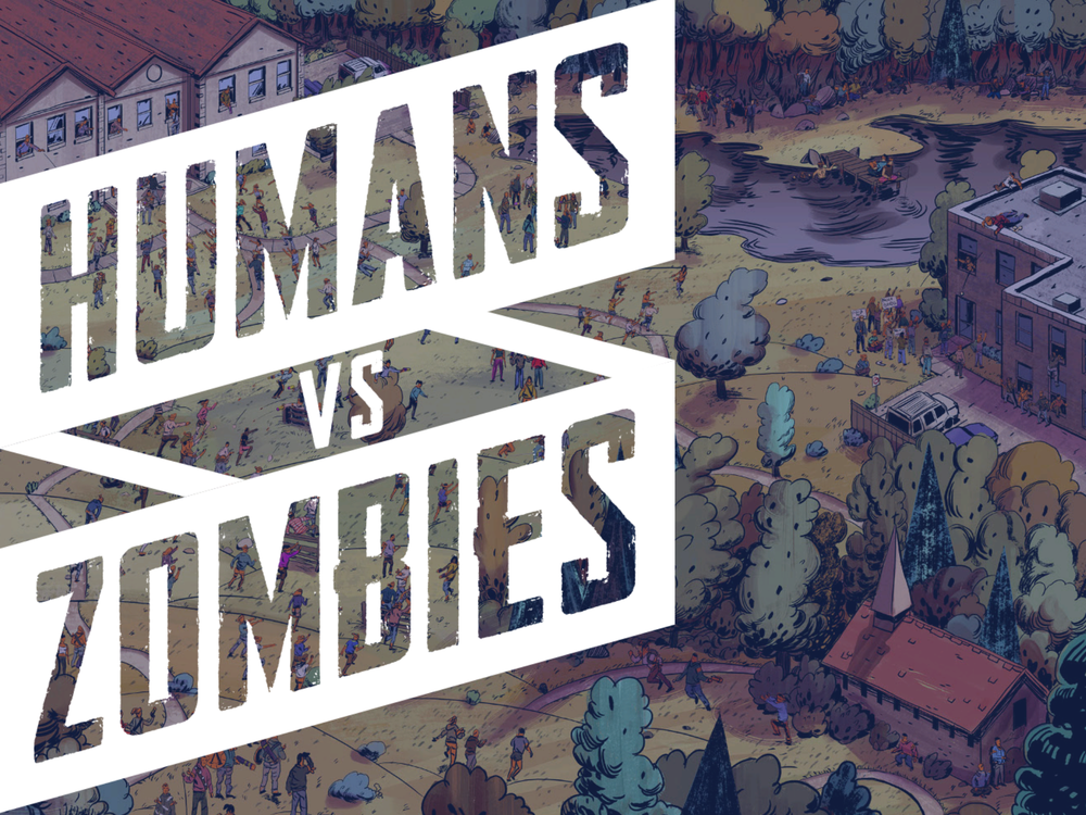 Humans vs Zombies Slide Left