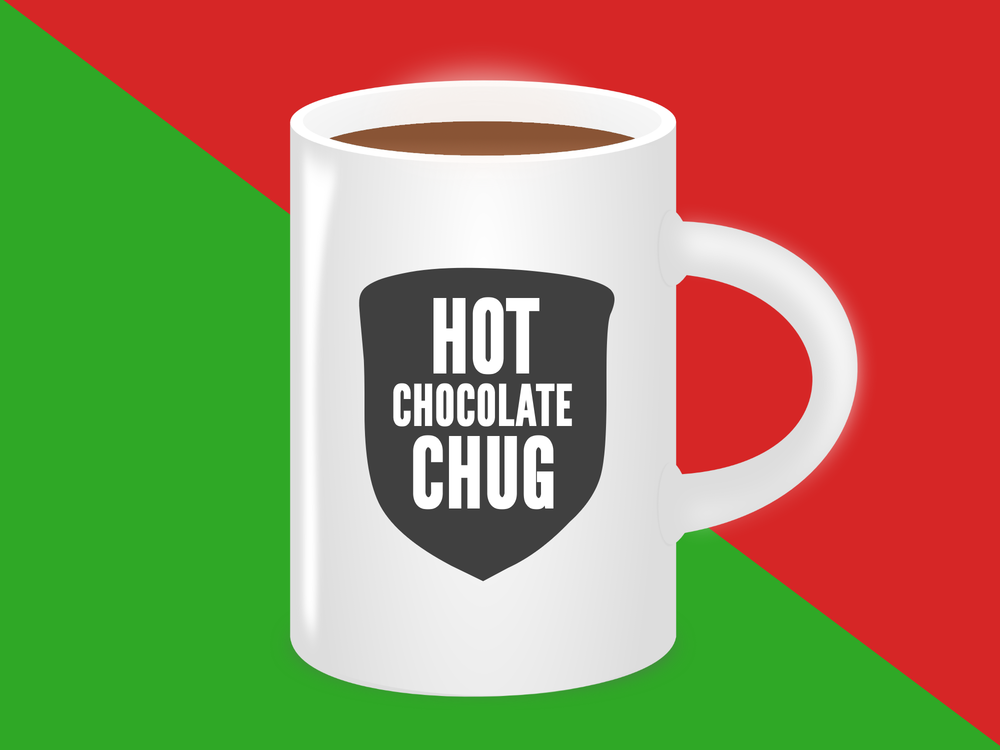 Hot Chocolate Chug Youth Group Collective SD