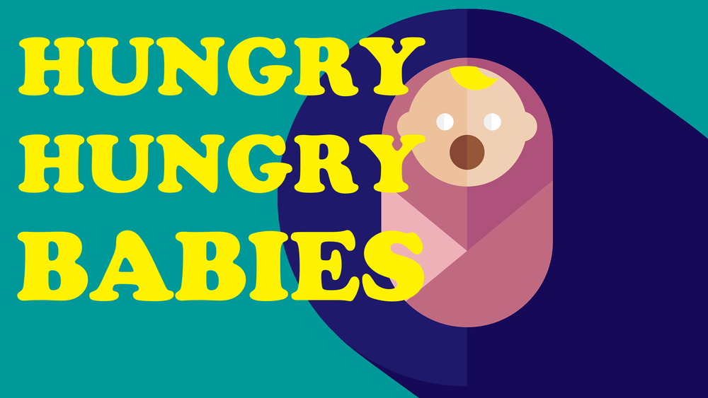 Hungry Hungry Babies HD Youth Group Collective