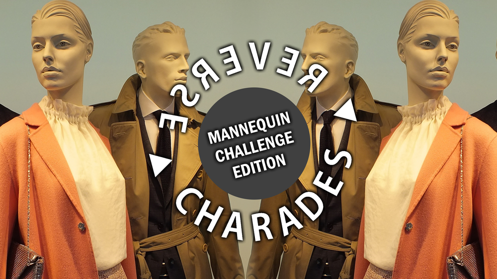 Reverse Charades Mannequin Edition HD Youth Group Collective