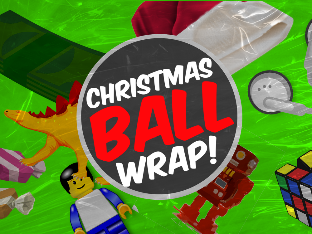 mixers christmas ball wrap - Christmas Youth Group Games