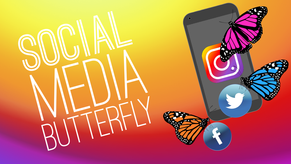 Social Media Butterfly HD Youth Group Game