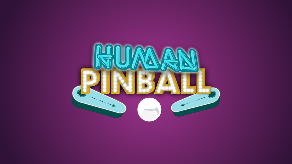 human pinball HD Youth group collective games