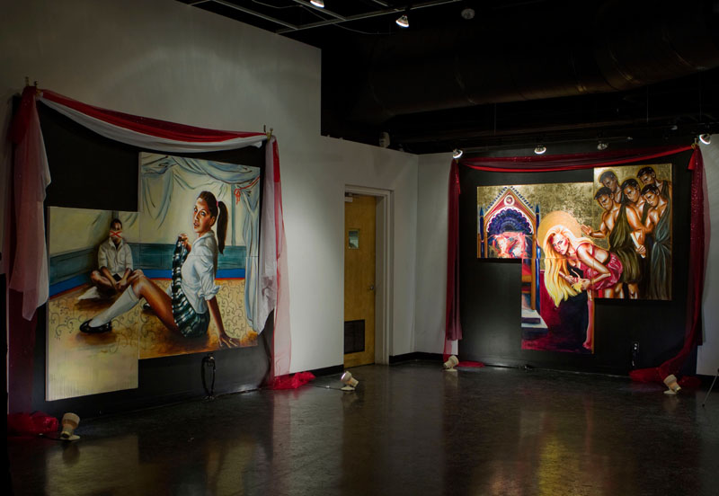 Sex, Kitsch, And Theater Installation View